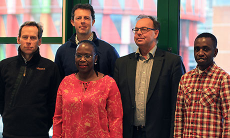 Members of the project group, Uganda collaboration