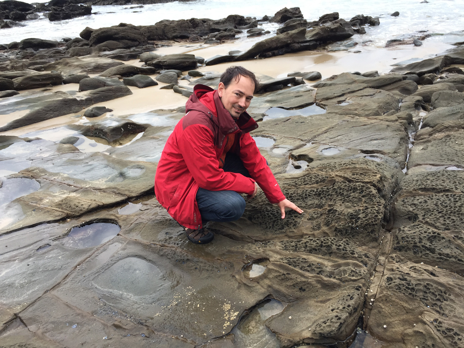 Gothenburgs geochemist Dr. Thomas Zack is currently on sabbatical in Australia