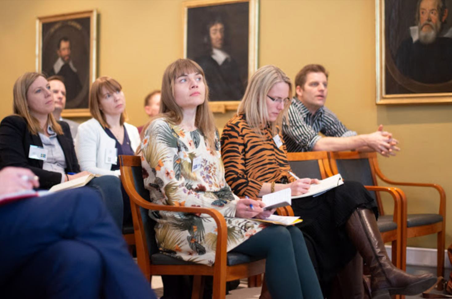 Representatives of young academics in Nordic and Baltic countries at meeting.