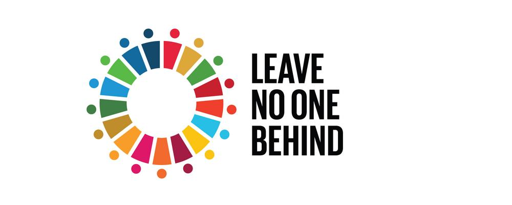 Leave no one behind - logotype