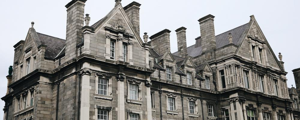 Trinity College in Dublin