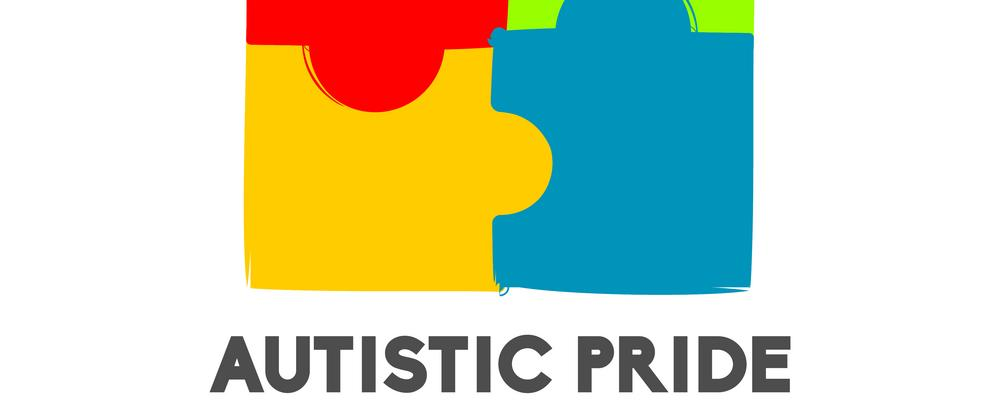 World Autistic Pride Day Logo Vector Template