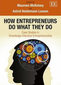 Book cover: How entrepreneurs do what they do
