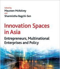 Book cover: Innovation Spaces in Asia