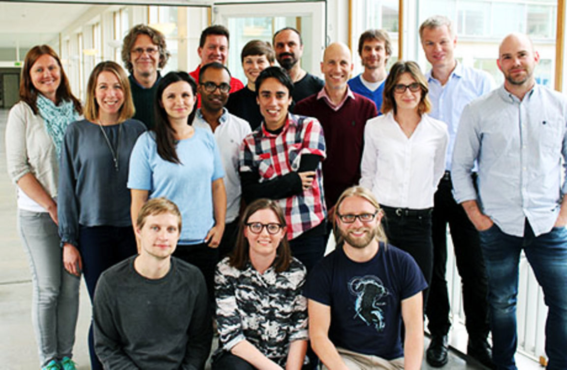 Group photo of researchers within behavioural and experimental economics