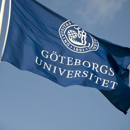 Göteborgs universitets flagga